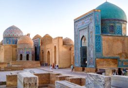 1-Day Samarkand Cultural Tour by Train