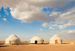 Aral Sea from Khiva